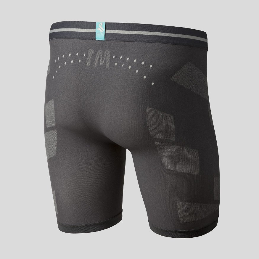 Horse riding underwear - Breezy Boxer Joe anthracite back