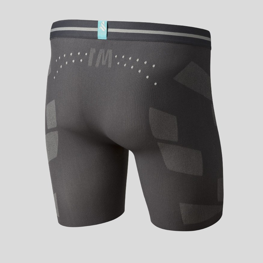 Horse riding underwear - Breezy Boxer Joe Zero anthracite back