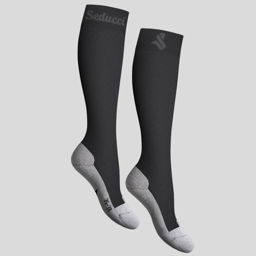 Horse riding Equestrian socks - pro ag anthracite