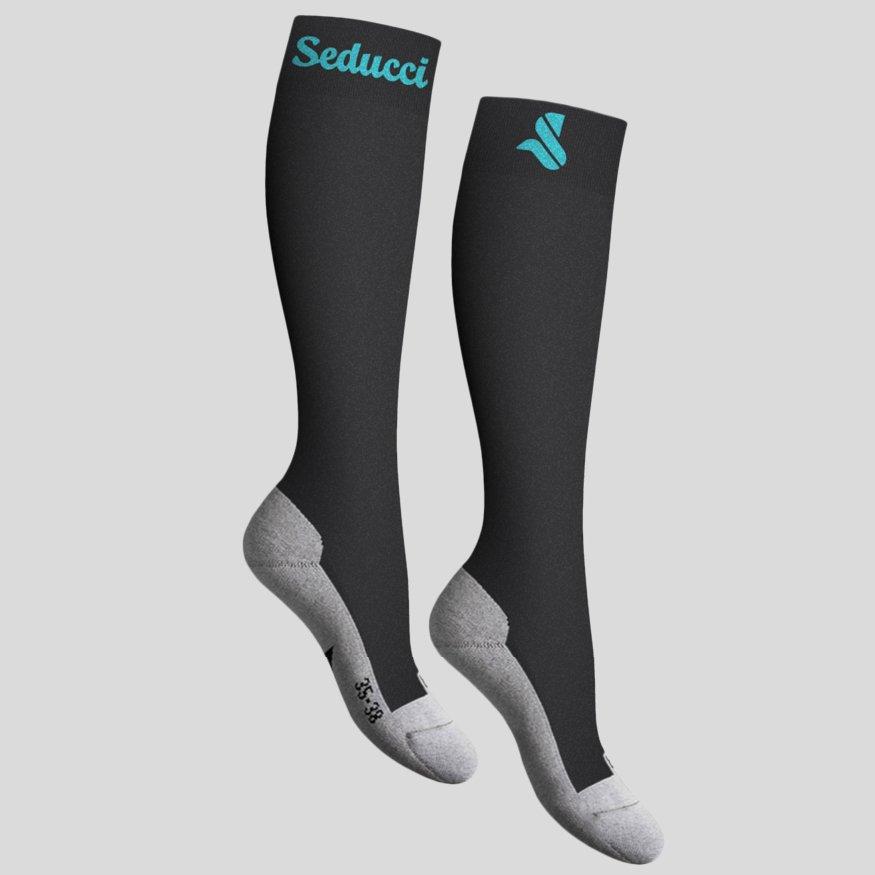 Horse riding Equestrian socks - pro ag turquoise