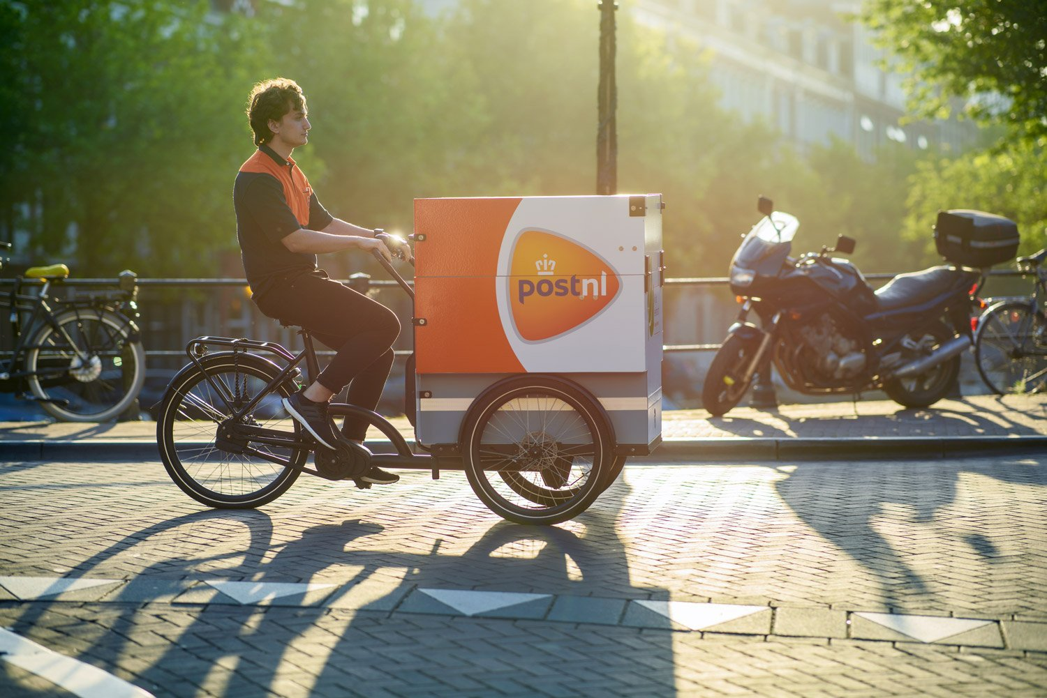 POST NL electric delivery bike