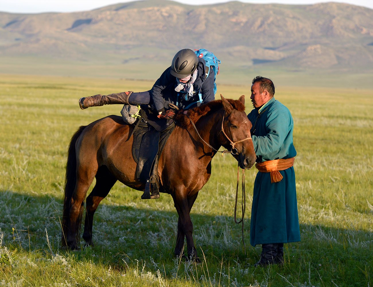 Mongol Derby - Mount up