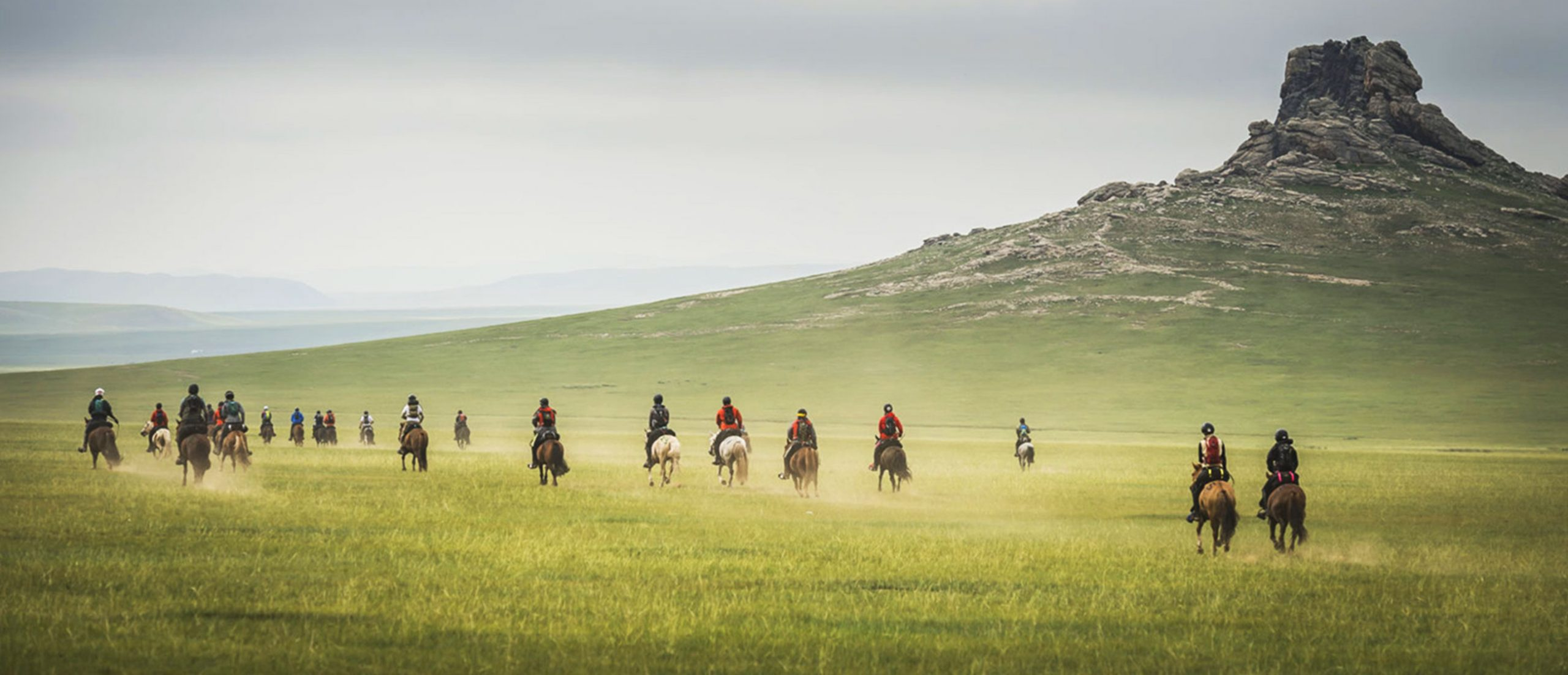 Mongol Derby - Galloping the steppe