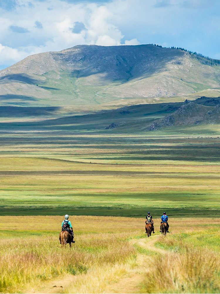 Mongol Derby - Mongolian steppe